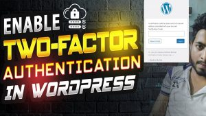 Two-factor Authentication WordPress